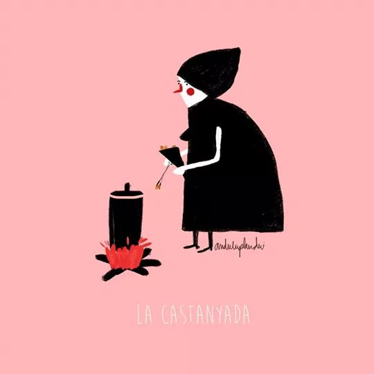 la castanyera - il·lustració by anduluplandu