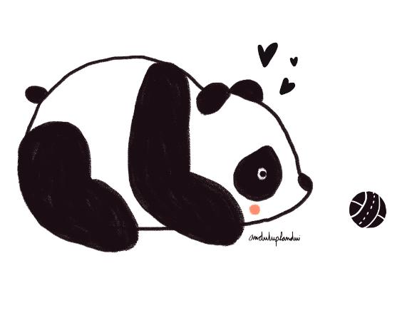 panda by anduluplandu