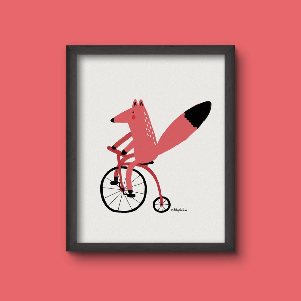 frame fox bici