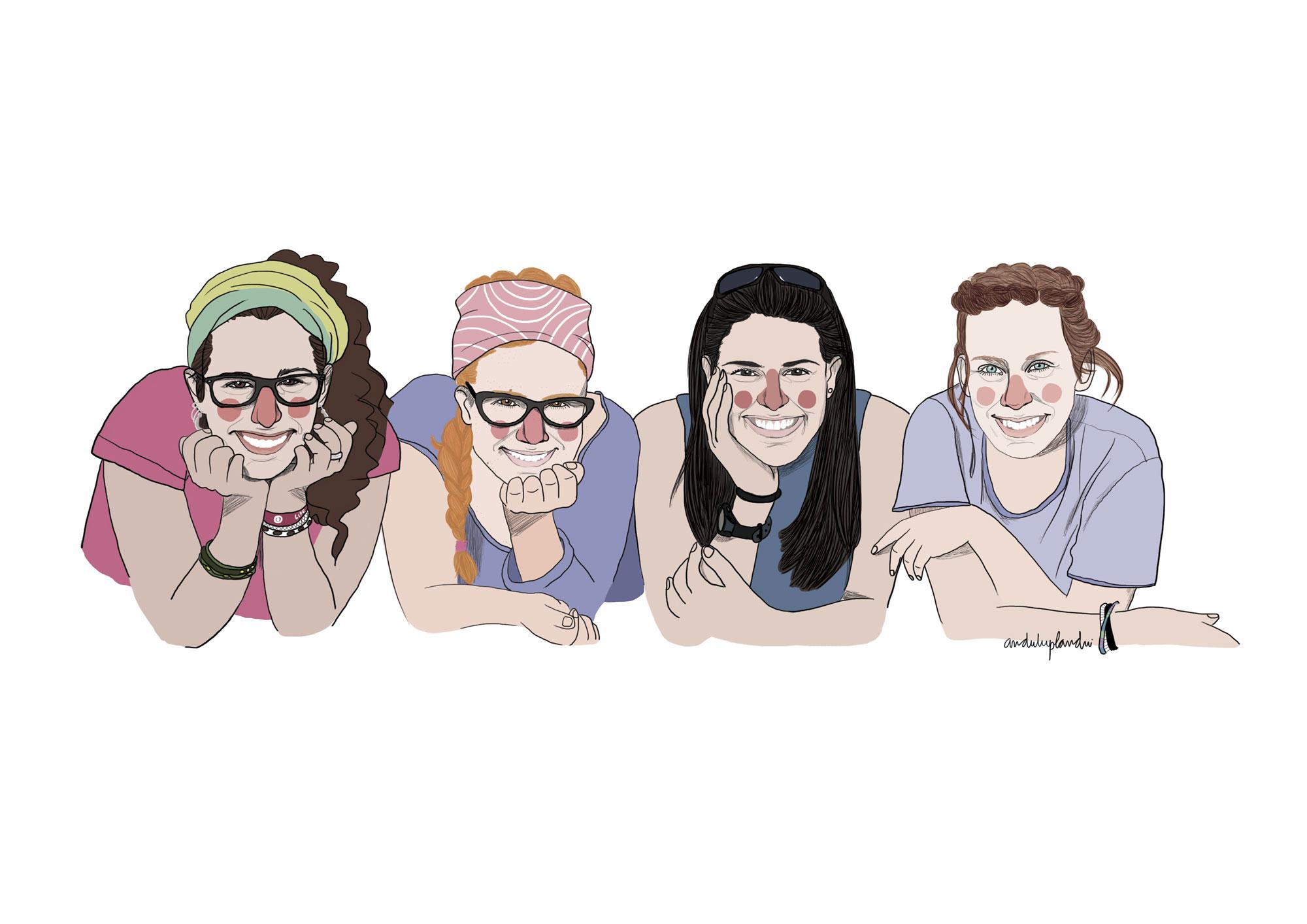 quatre noies