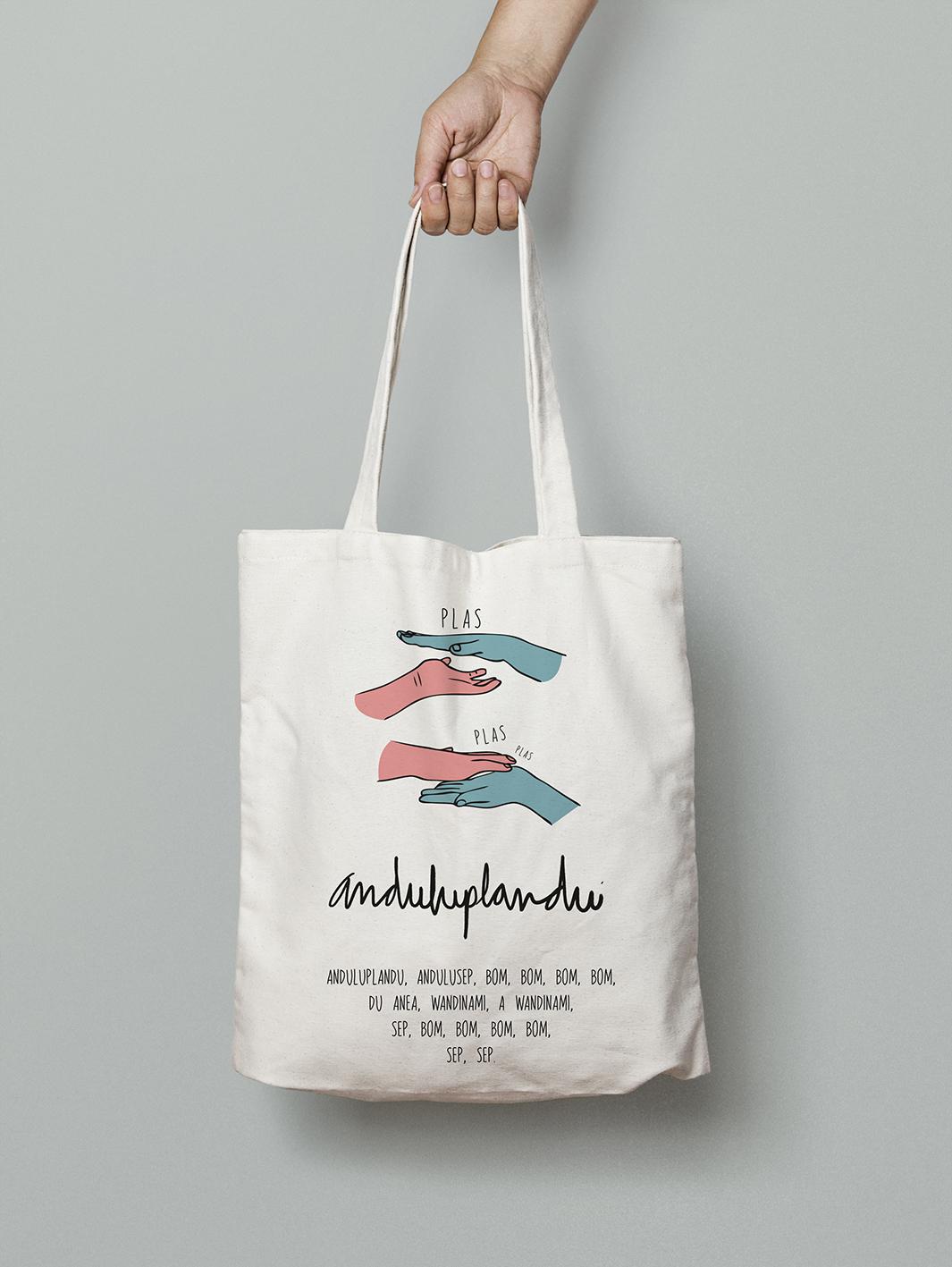 andulu tote bag