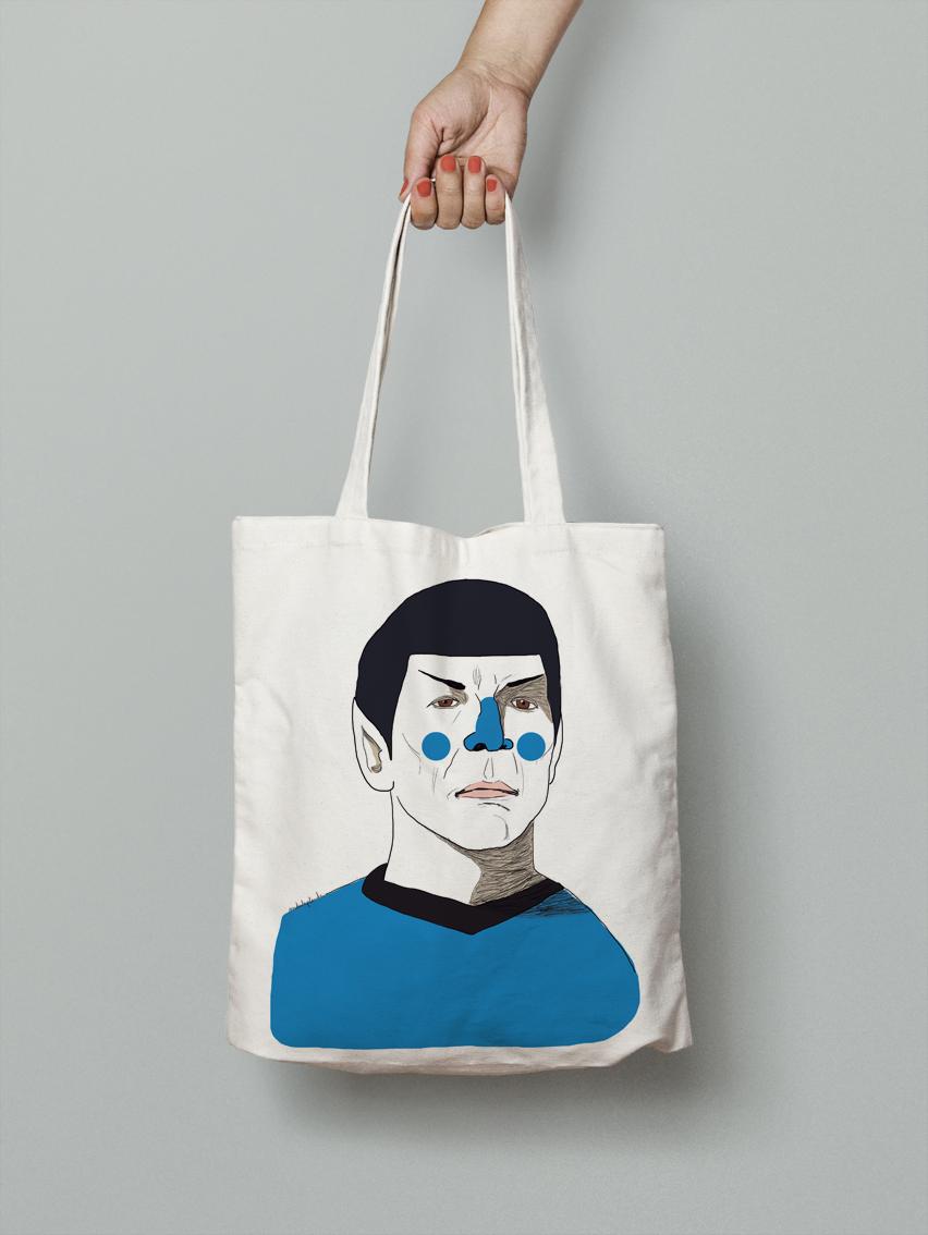 andulu tote bag nimoy