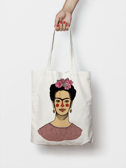 andulu tote bag frida