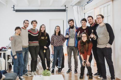 Anduluplandu   workshop amb Magoz al Cadaver exquisit de barcelona