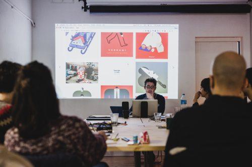 workshop amb Magoz al Cadaver exquisit de barcelona
