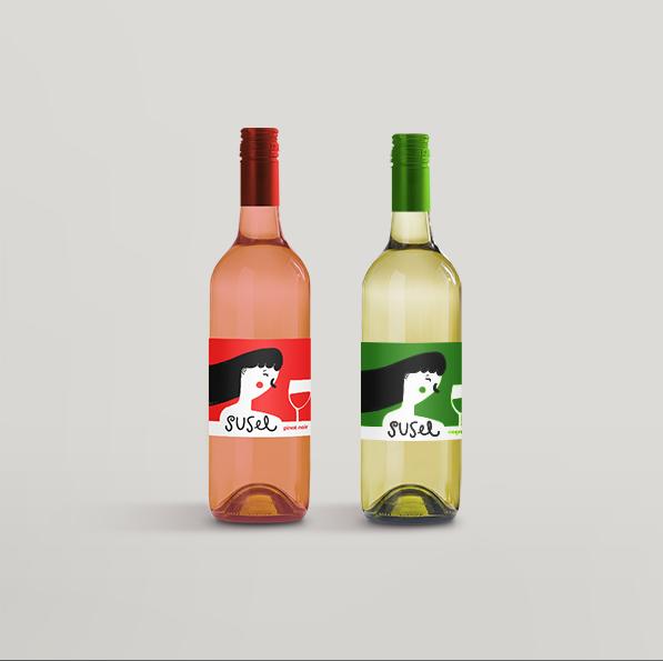 Anduluplandu | mockup wines SUSEL by anduluplandu