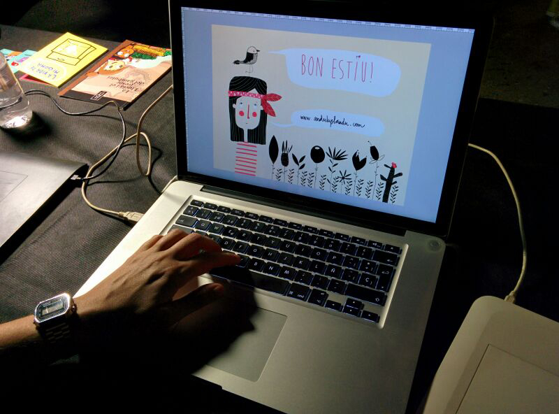 Anduluplandu | nit, ilustración, dibujar, arte, tarragona