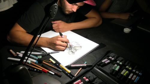 nit, ilustración, dibujar, arte, tarragona