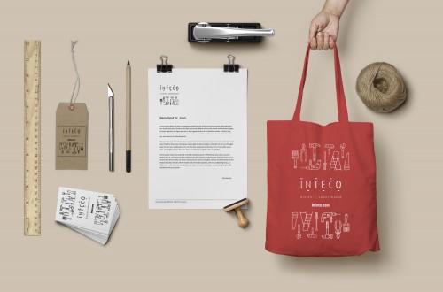 logo INTECO Contract & Home by anduluplandu