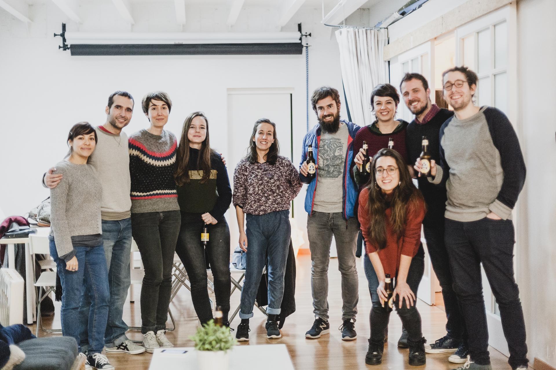 Anduluplandu | workshop amb Magoz al Cadaver exquisit de barcelona