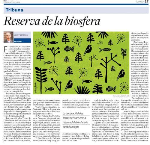 Anduluplandu | reserva de la biosfera Diari de Tarragona